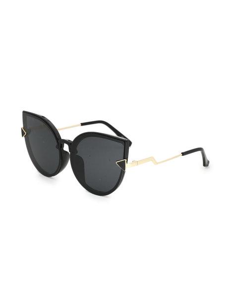 Fashion Lab - Oversized Cat Eye Sunglasses
