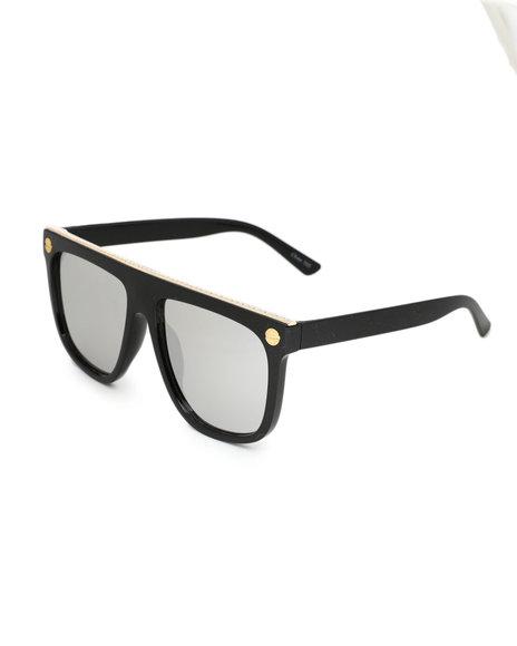 Fashion Lab - Sunglasses W/ Gold Trim
