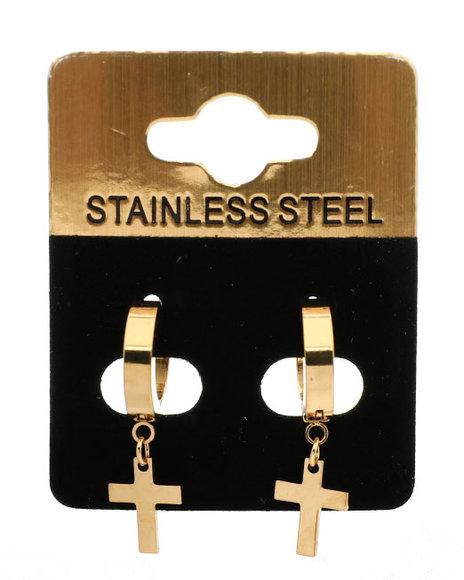 Buyers Picks - Hanging Cross Earrings