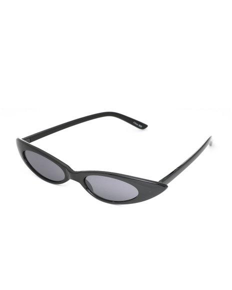 Fashion Lab - Cat Eye Fashion Sunglasses