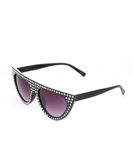 Fashion Lab - Stone Fashion Sunglasses