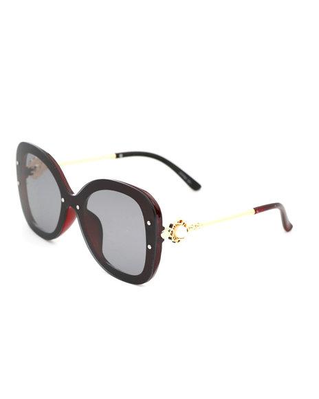 Fashion Lab - Fashion Sunglasses W/ Pearl Details