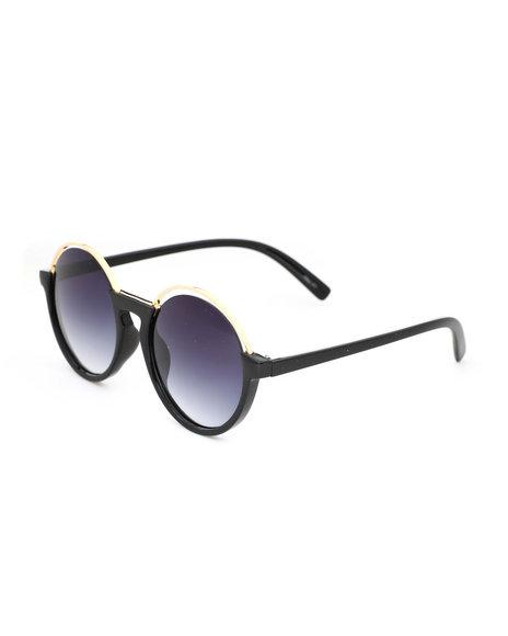 Fashion Lab - Round Cut Sunglasses