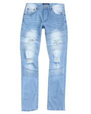 Buyers Picks - Moto Stretch Jean w Rip and Tear-2487322