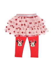 Bottoms - Minnie Mouse Face Dot Skegging (2T-4T)-2482382