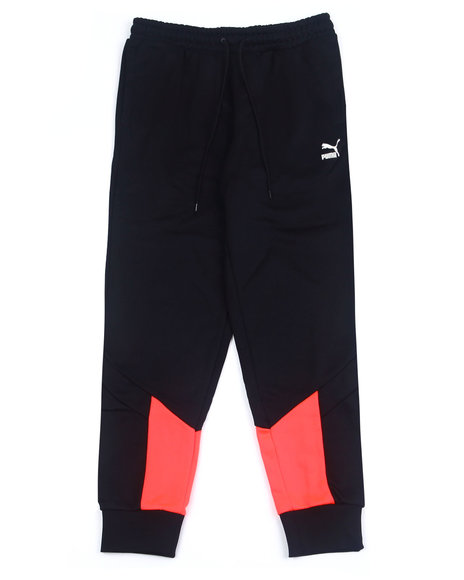 Puma - Iconic MCS Track Pant w Orange hit