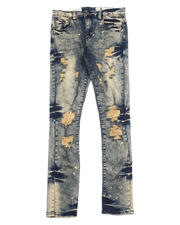 Industrial Indigo - Bleached Tint Wash Distresed Jean-2488960