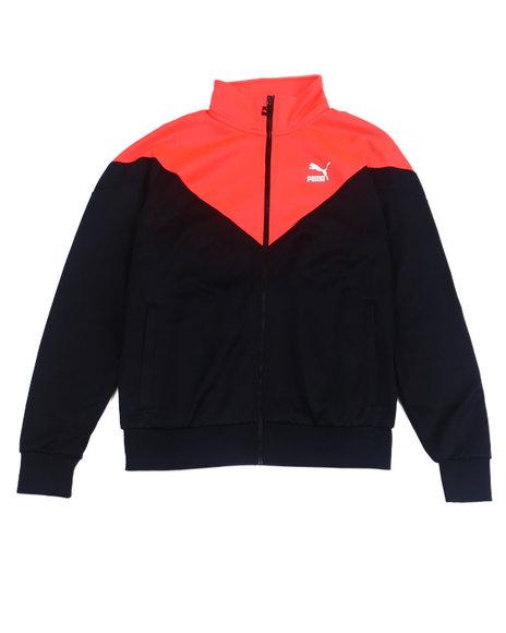 Puma - Iconic MCS Track Jacket w Orange hit