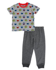 Sesame Street - 2 Pc Sesame Street Faces Tee & Jogger Pants Set (2T-4T)-2490179