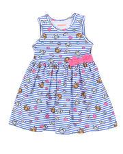 Dresses - Paw Patrol Print Stripe Dress (4-6X)-2490951