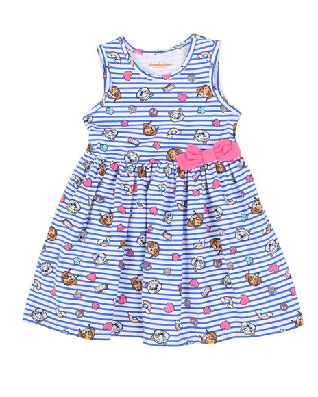 Nickelodeon - Paw Patrol Print Stripe Dress (4-6X)
