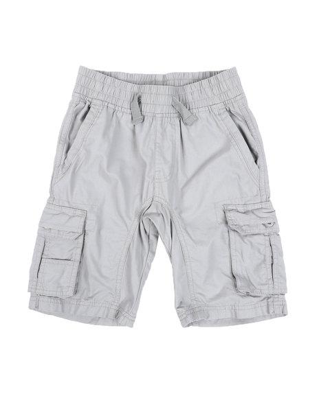 Southpole - Canvas Cargo Shorts W/ Drawstrings (8-20)