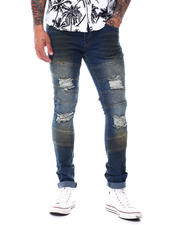 Jeans & Pants - Moto Stretch Jean w Rip and Tear-2486389