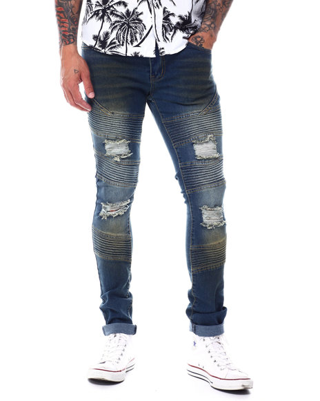 Buyers Picks - Moto Stretch Jean w Rip and Tear