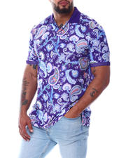 Polos - Paisley Polo Shirt (B&T)-2487963