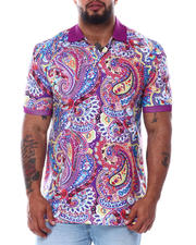 Buyers Picks - Paisley Polo Shirt (B&T)-2487953