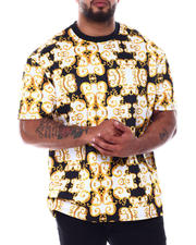 Short-Sleeve - Filigree Scuba Printed Crew T-Shirt (B&T)-2490084
