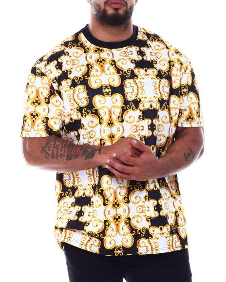 Buyers Picks - Filigree Scuba Printed Crew T-Shirt (B&T)