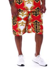 Buyers Picks - Filigree Baroque Printed Scuba Shorts (B&T)-2489339