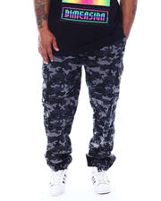 Akademiks - Peak Stretch Twill Joggers (B&T)-2489847