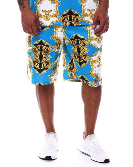 Buyers Picks - Filigree Baroque Printed Scuba Shorts (B&T)