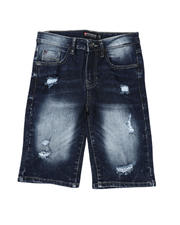 Southpole - Ripped Stretch Denim Shorts (8-18)-2491251