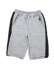 Arcade Styles - Cut & Sew Fleece Pull-On Shorts (4-7)-2491278