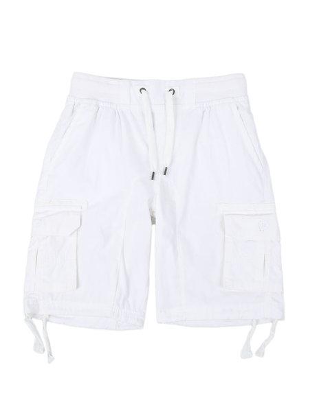 Arcade Styles - Twill Cargo Shorts W/ Drawstrings (8-18)