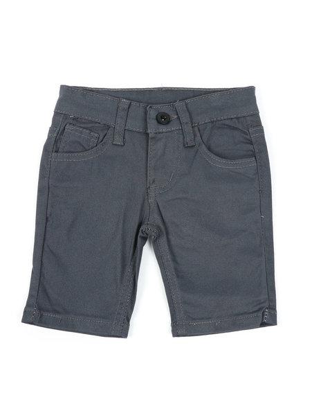Arcade Styles - Stretch Pull-On Twill Shorts (2T-4T)