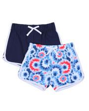 Bottoms - 2 Pk Dolphin Shorts (7-16)-2491355