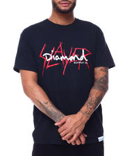 Diamond Supply Co - SLAYER X DIAMOND SS TEE-2491611
