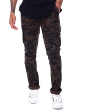 The Camper - Ripstop Woodland Camo Cargo Pant w Belt-2491717