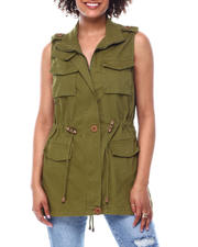 Outerwear - Cargo chest pkt vest-2491123