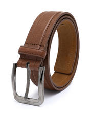 Men - Adjustable Leather Belt (32-44)-2491595