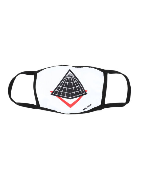 Black Pyramid - Pyramid Logo Face Mask