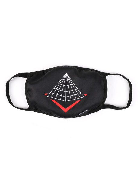 Black Pyramid - Pyramid Logo Face Mask (Unisex)