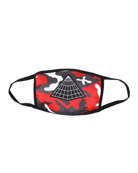 Black Pyramid - Pyramid Logo Face Mask (Unisex)