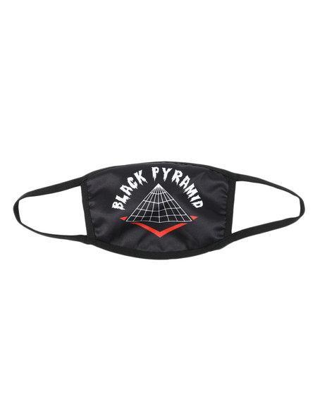 Black Pyramid - Full Drip Face Mask (Unisex)