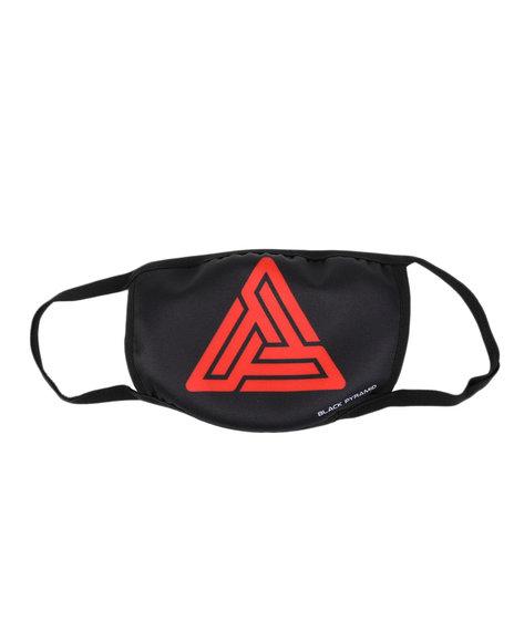 Black Pyramid - Maze Logo Face Mask (Unisex)