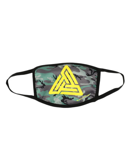 Black Pyramid - Maze Logo Face Mask (Unisex)