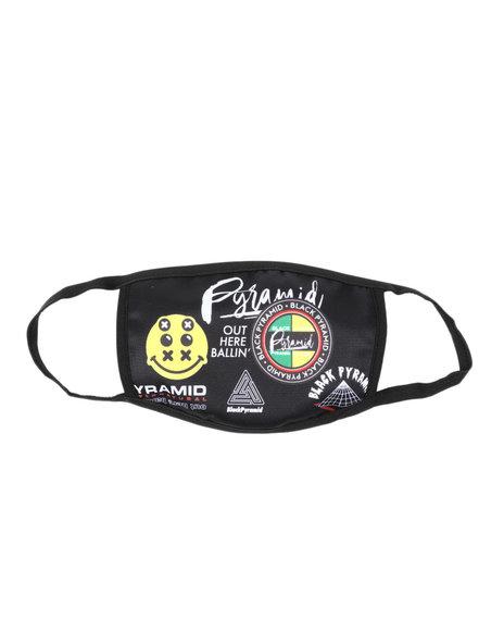 Black Pyramid - Word Famous Face Mask (Unisex)