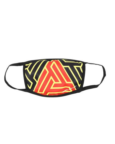 Black Pyramid - Hidden Maze Face Mask