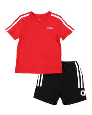 Sets - 2 Pc Cotton Sport T-Shirt & Shorts Set (2T-4T)-2491852