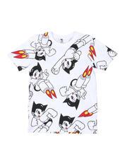 Tops - Southpole x Astro Boy Allover Print Tee (8-20)-2491980