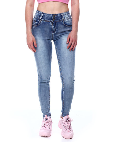 Fashion Lab - Butt Lifter Stretch Skinny Jean