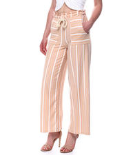 Spring-Summer-W - Stripe Paper Bag Palazzo Pant-2491041