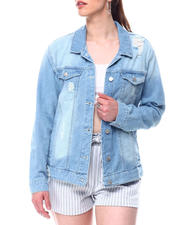 Womens-Holiday - Vintage denim jacket-2491080