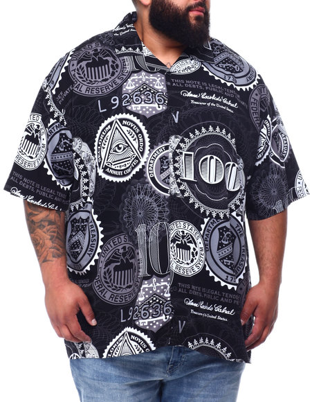 Buyers Picks - 100 Dollars All Over Printed Woven Shirt (B&T)