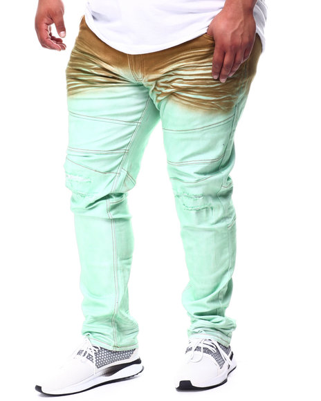 A Tiziano - Jason Dip Dye Stretch Denim Jeans (B&T)