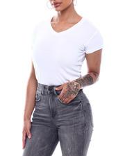 Women - S/S V-Neck T-Shirt-2492075